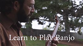 play the banjo