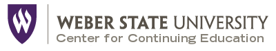 Weber State Continuing Education Logo