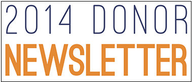 Donor Newsletter