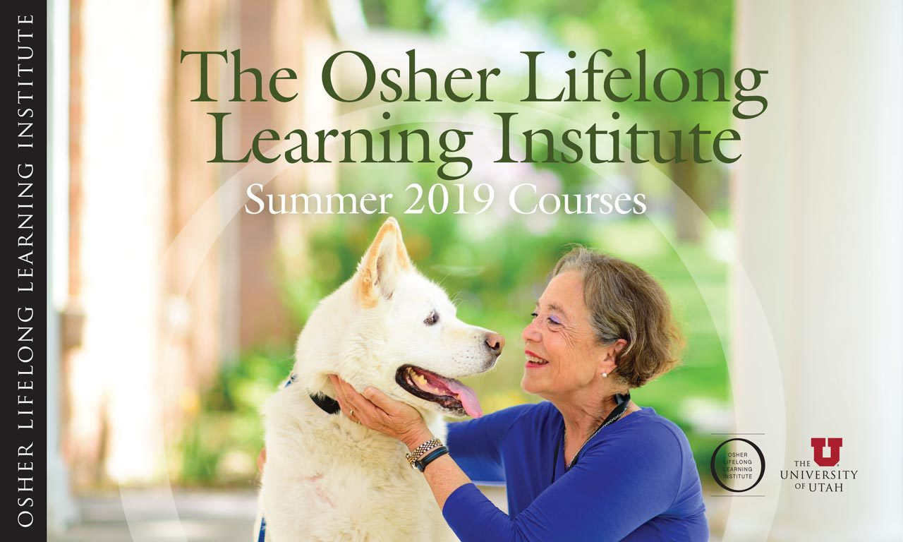 Osher Lifelong Learning Summer Catalog Cover