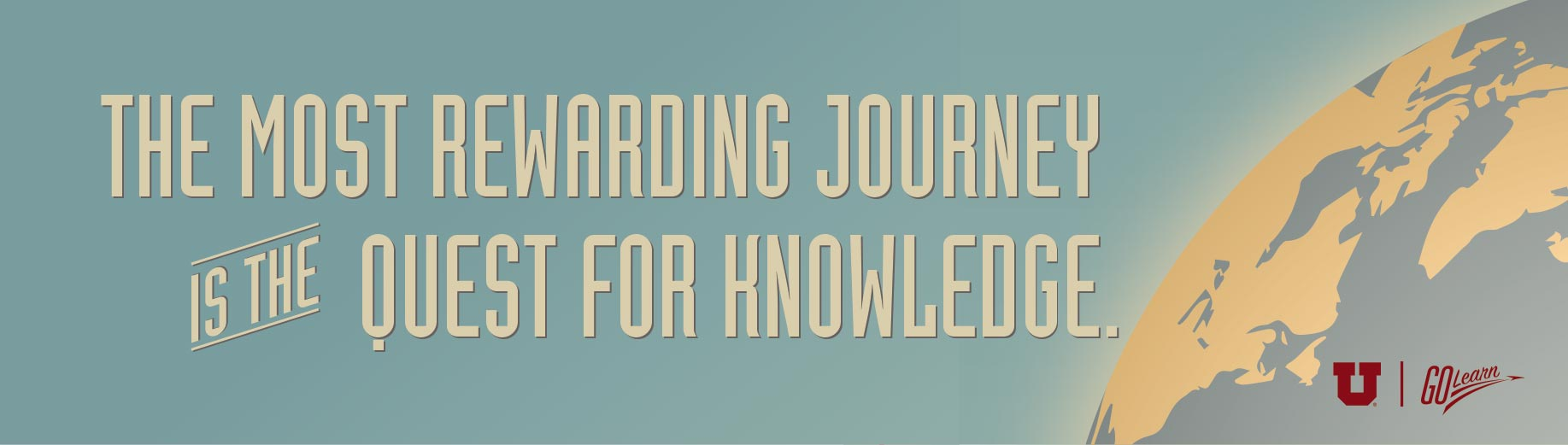 the most rewarding journey is the quest for knowledge