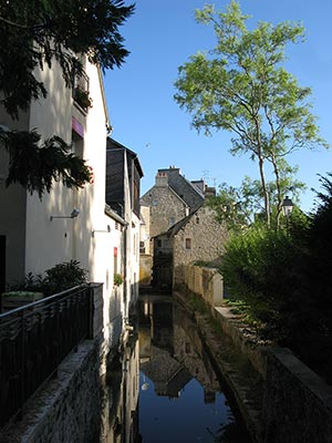 Canal in Bayeaux