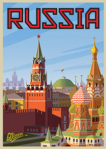 Russia Go Learn poster