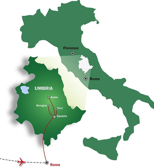 l abbondanza perugia italy map - photo#18