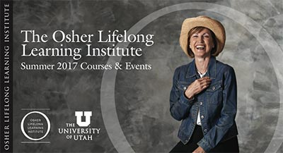 Osher Lifelong Learning Institute summer 2017