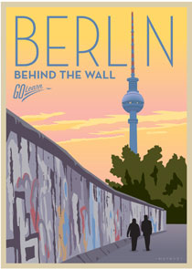 Berlin: Behind the Wall Go Learn poster