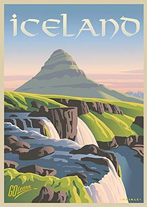 Iceland Go Learn poster