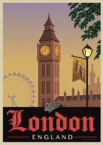 London on Stage Go Learn poster