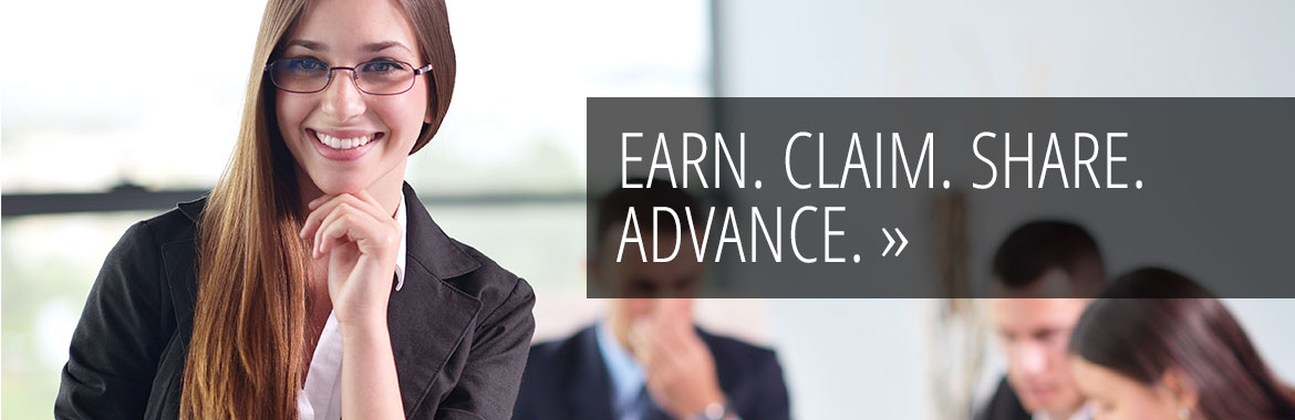 Earn. Claim. Share. Advance with Digital Badges from the University of Utah