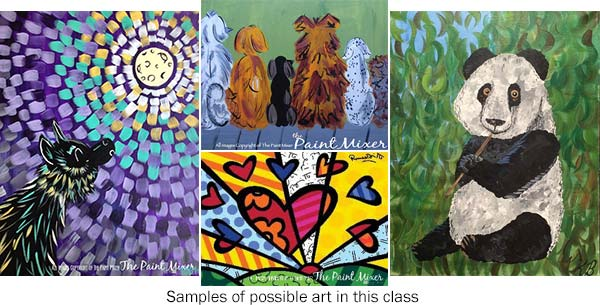 class paintings